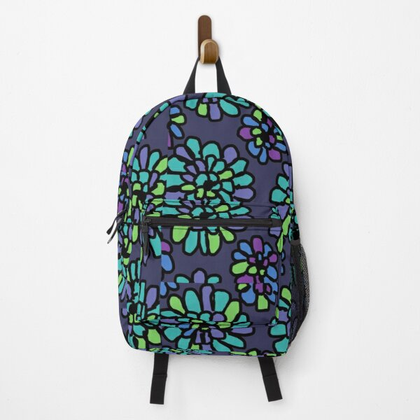 Vera Bradley inspired Indigo Pop  Backpack