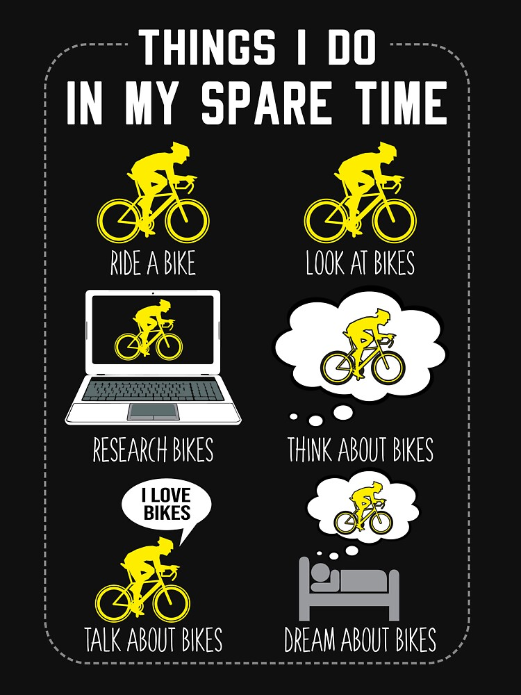 6 Things I Do In My Spare Time Cycling by Sanije