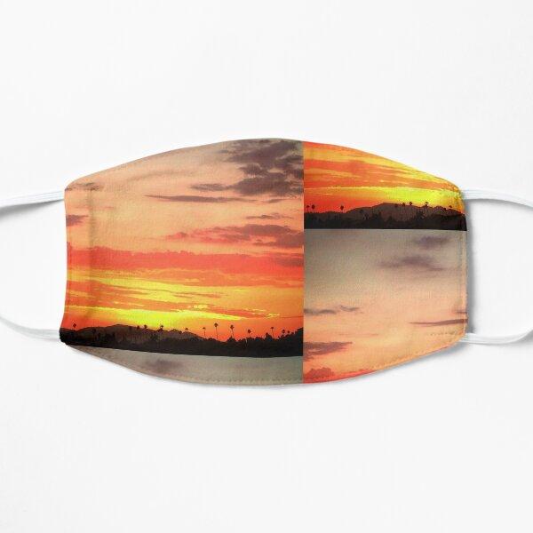 South Pasadena Sunset View over the Arroyo Flat Mask