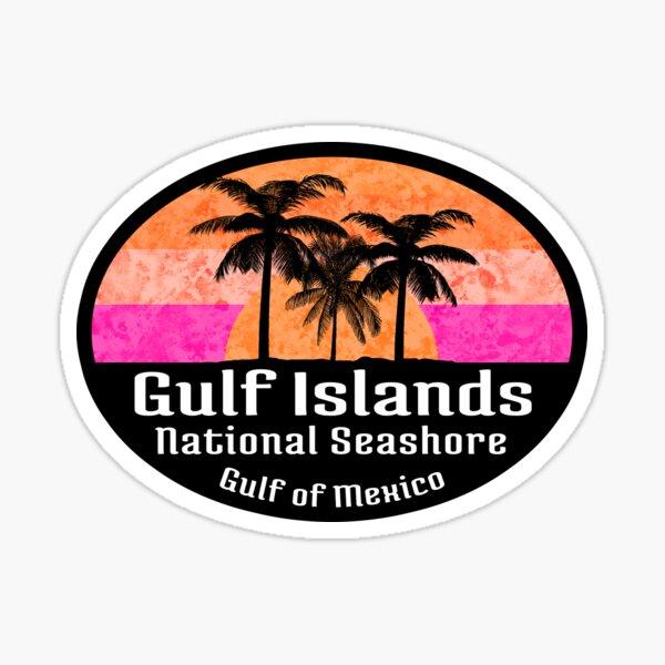 Gulf Islands National Seashore Florida Alabama Mississippi Sticker