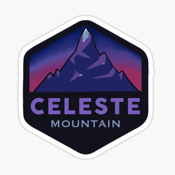Celeste Mountain Travel Sticker Sticker