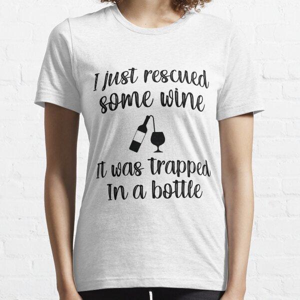 Ich habe gerade einen Wein gerettet Ella Lopez Lucifer Tv-Serie Essential T-Shirt
