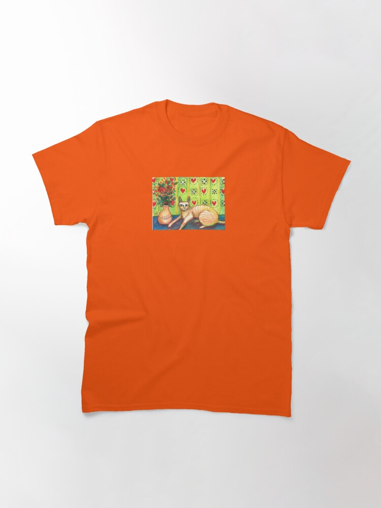 Alternate view of Indoor Cat Classic T-Shirt