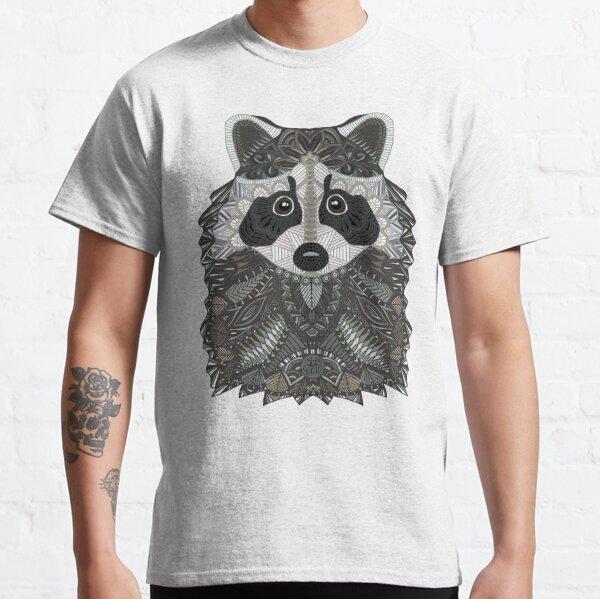 Ornate Raccoon Classic T-Shirt
