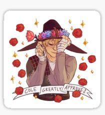 Cole Approval - Dragon Age Sticker