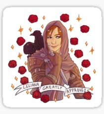 Leliana Approval - Dragon Age Sticker