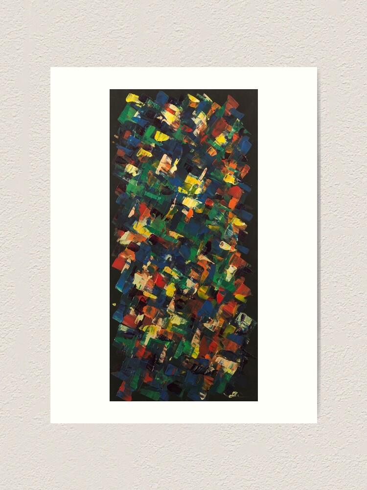Alternate view of Kaleidoscope of Color Art Print