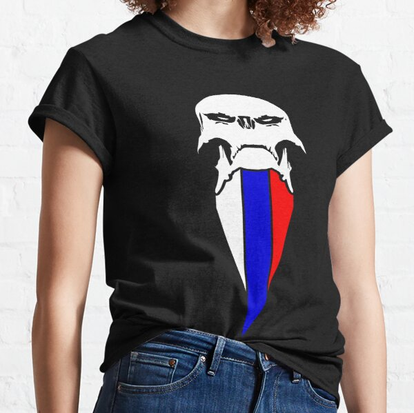 Russian skull flag Classic T-Shirt