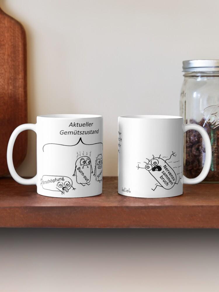 Alternative Ansicht von Gemuetszustand Tasse