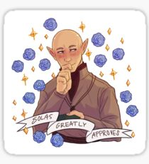 Solas Approval - Dragon Age Sticker