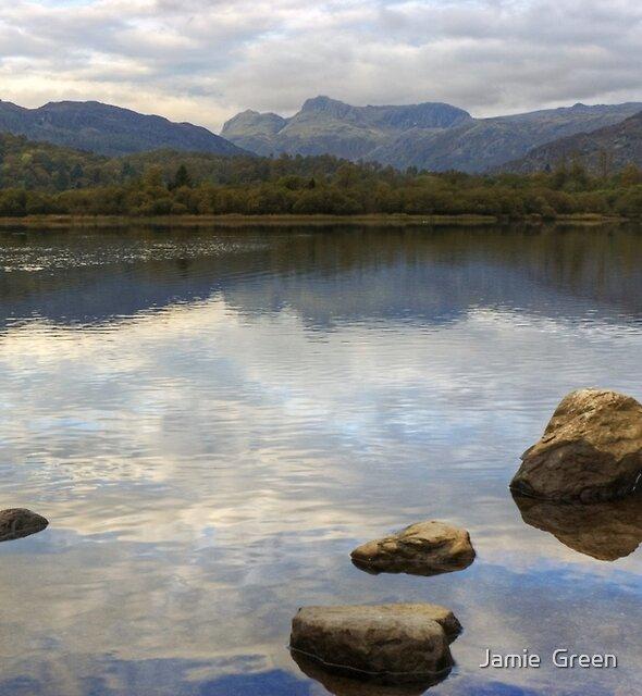 Elterwater & The Langdale Pikes by Jamie  Green