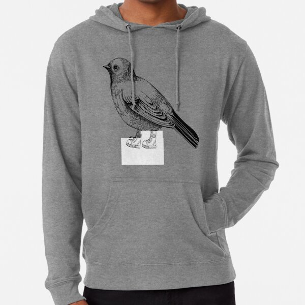 Birds in shoes Lightweight Hoodie