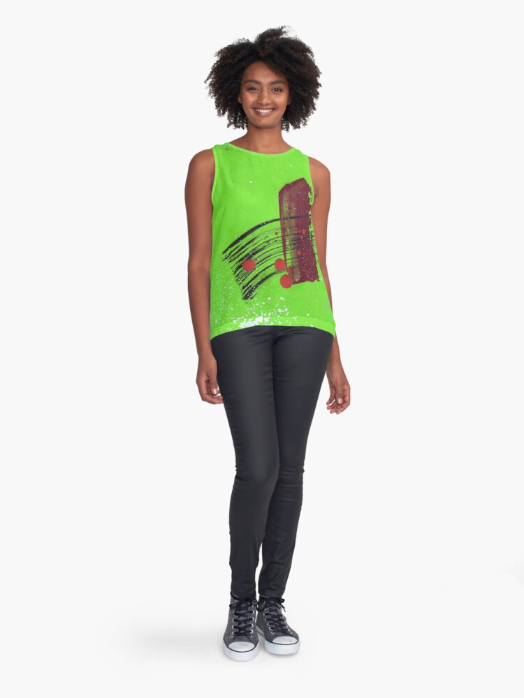 Alternate view of Off the Beaten Track Sleeveless Top