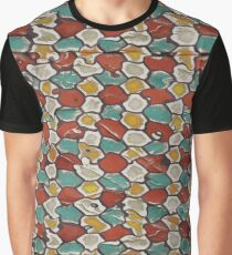 Retro texture Graphic T-Shirt