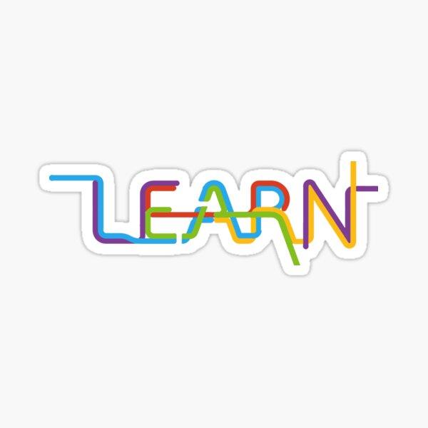 learn Sticker
