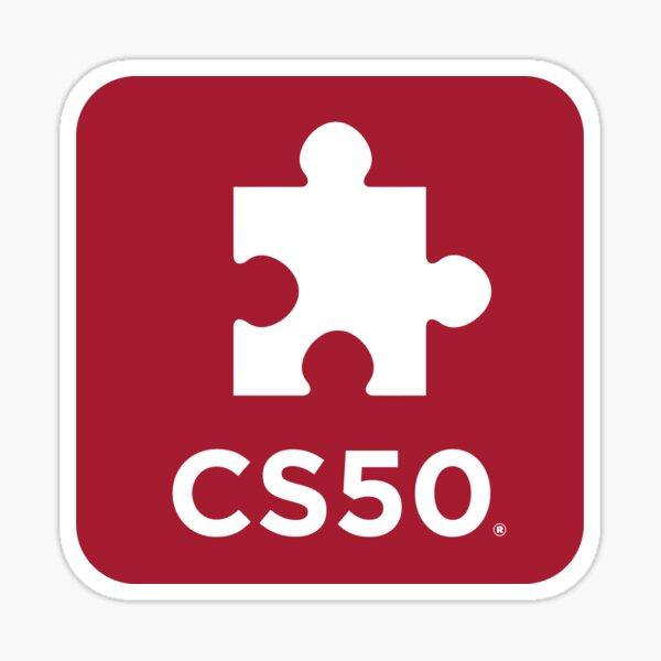 CS50 Puzzle Day Sticker