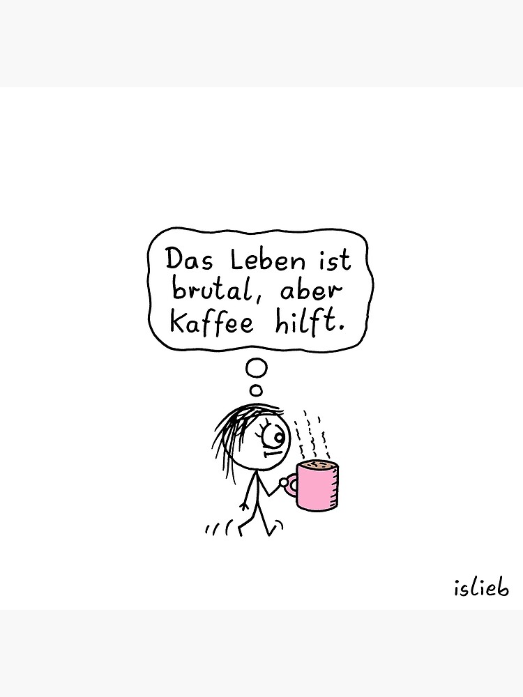 Kaffee-Katzen-Tasse von islieb