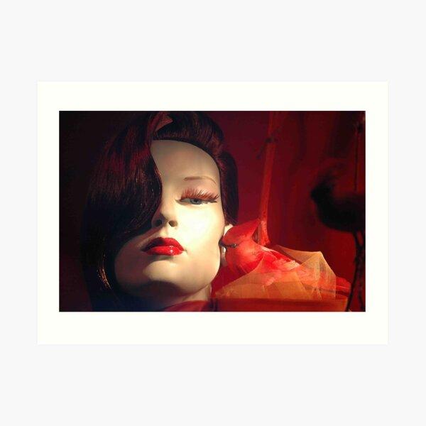 Cardinal Secrets Art Print