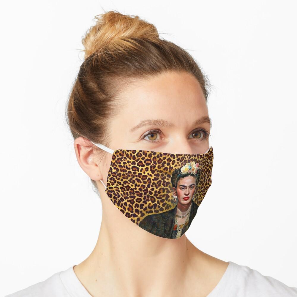 Leopard Frida Mask