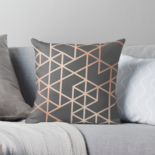 Gold Foil Pillows Cushions Redbubble