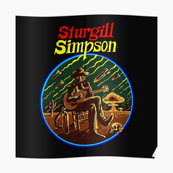 sturgill simpson cover music Ecelna Póster