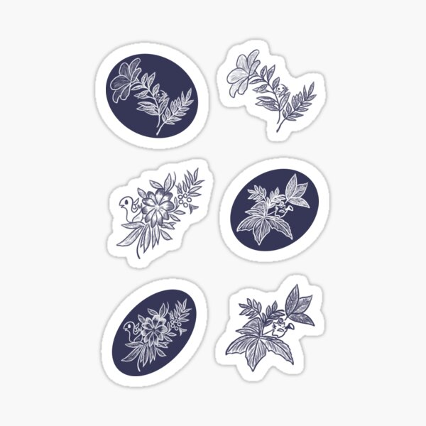 Southern Seas sticker pack Sticker