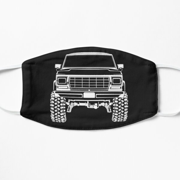 1978 Ford Bronco Truck Flat Mask