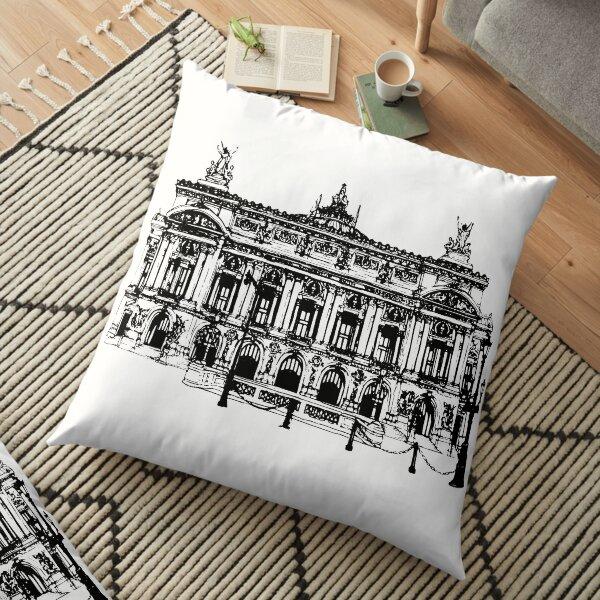 Palais Garnier Floor Pillow