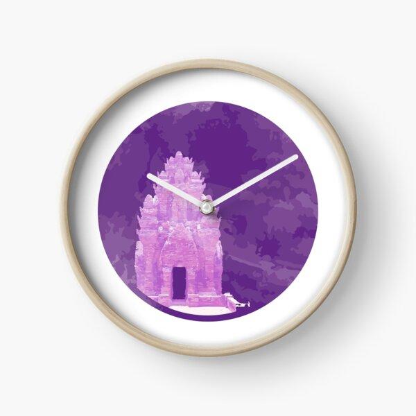 Vietnam Champa Tower Ninh Thuan Vestige Clock