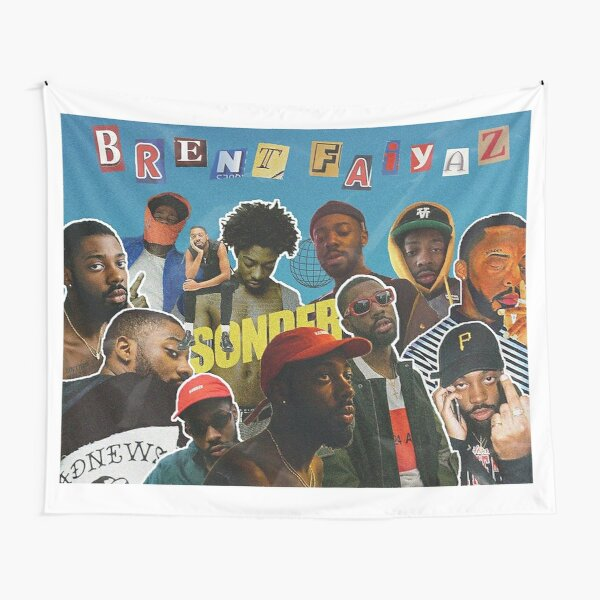 Brent Collage Tapestries | Redbubble