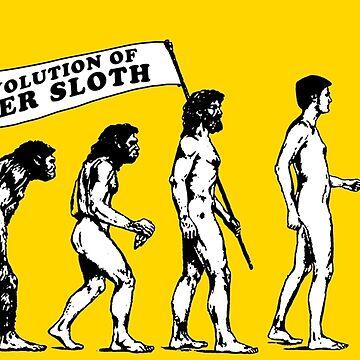 THE EVOLUTION OF STONER SLOTH by internetkills