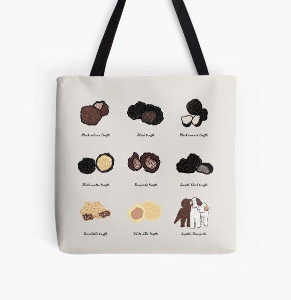 Truffle hunter All Over Print Tote Bag