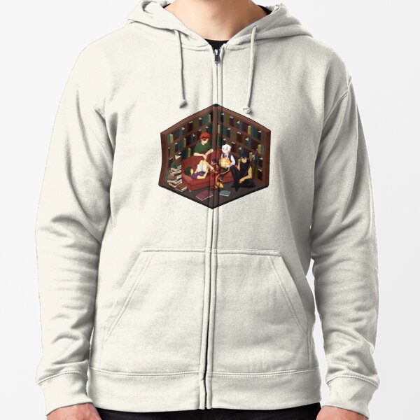 Exorcists at Rest Zipped Hoodie