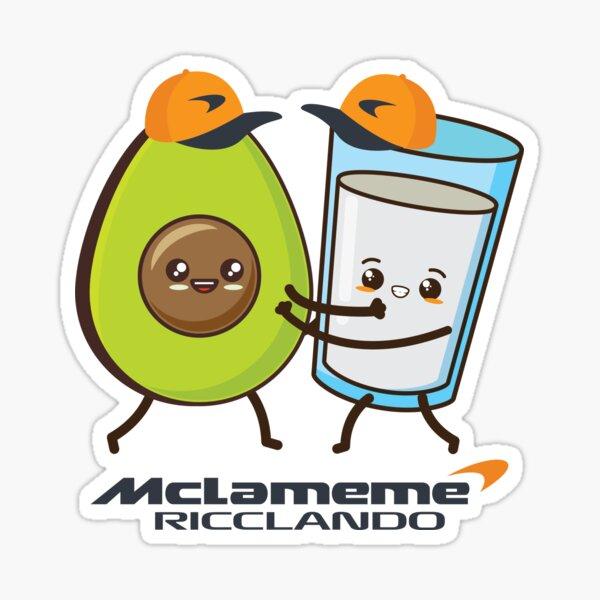 ÉQUIPE RICCIARDO NORRIS MCLAREN Sticker