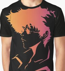 Spike Cowboy Bebop Graphic T-Shirt
