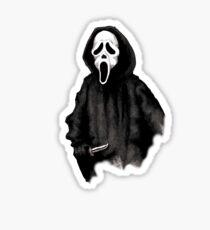 Ghost Face Sticker
