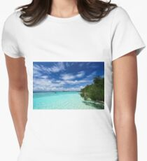 Another Day in Paradise Women's Fitted T-Shirt