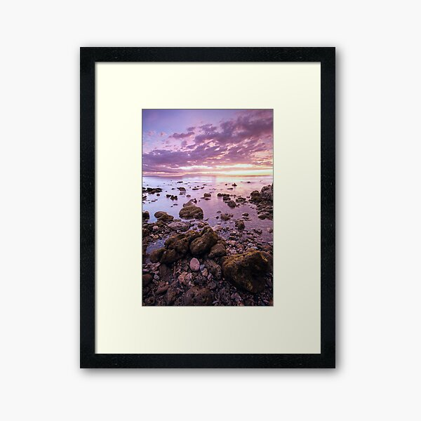 Iligan Sunset I Framed Art Print