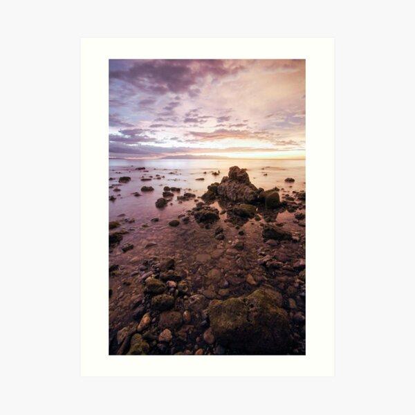 Iligan Sunset II Art Print