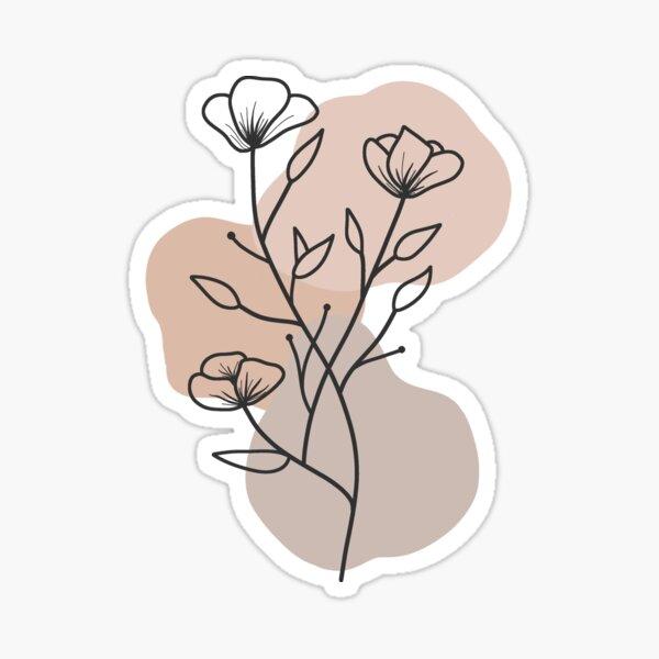 Flowy Sticker
