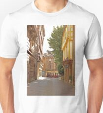 Small Street in Central Vannes Brittany France Unisex T-Shirt