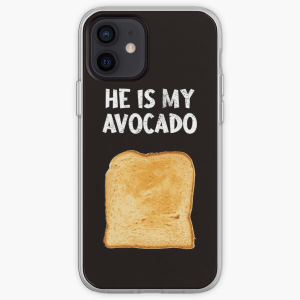 Funny Matching Outfit for Couples He is My Avocado T-Shirt iPhone Soft Case