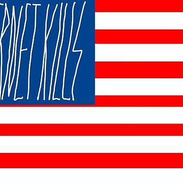 INTERNET KILLS FLAG by internetkills