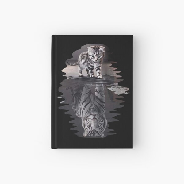 Cat x Tiger Gifts Hardcover Journal