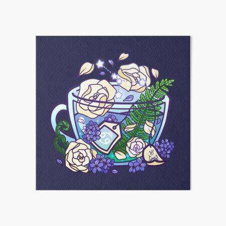 Cancer Zodiac Teacup Art Board Print