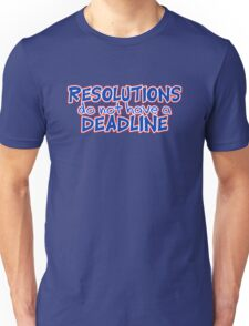 NYE Resolutions T-Shirt