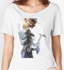 Tomb Raider  Women's Relaxed Fit T-Shirt