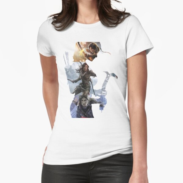 Tomb Raider  Fitted T-Shirt