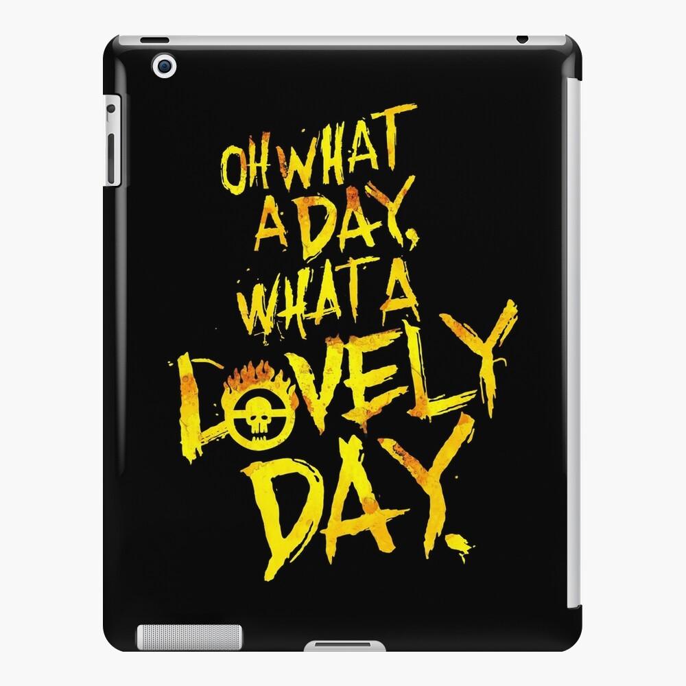 Mad Max Fury Road Was für ein schöner Tag! iPad-Hülle & Skin
