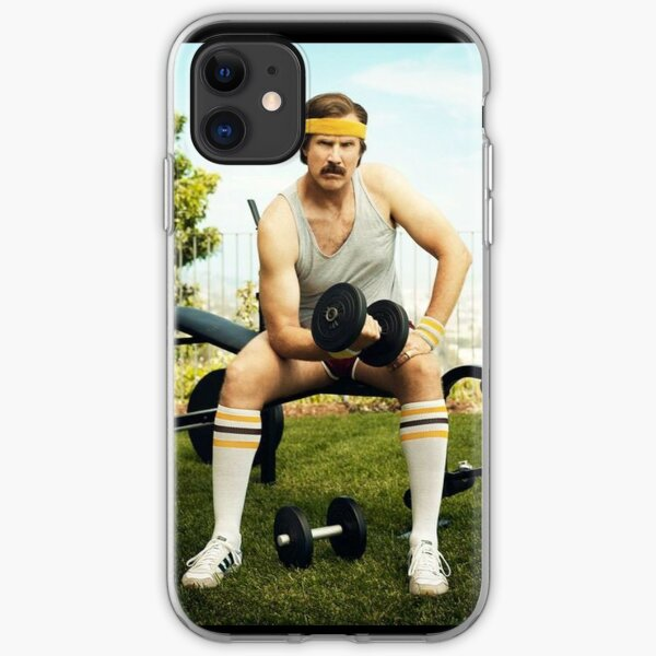 Ron Burgundy iPhone Soft Case